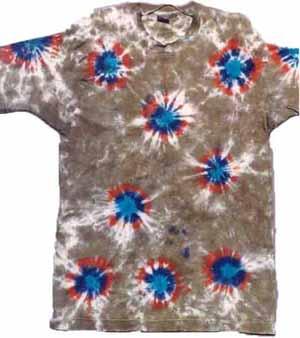 tee shirt-rosettes