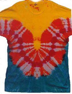 tee shirt-wave-horizontal